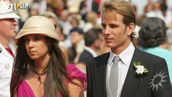 RTL Boulevard Andrea Casiraghi stapt in huwelijksbootje