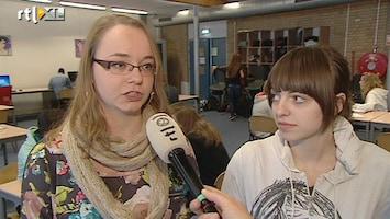 RTL Nieuws Groen polsbandje tegen pesten