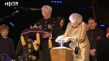 RTL Nieuws Groots concert voor jubilerende queen Elizabeth