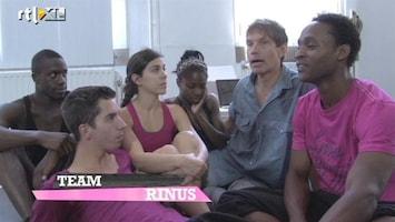 The Ultimate Dance Battle Emotionele week voor Team Rinus