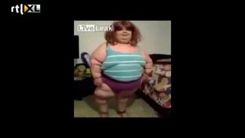 Editie NL Lelijke vrouw danst vreselijke Gangnam style