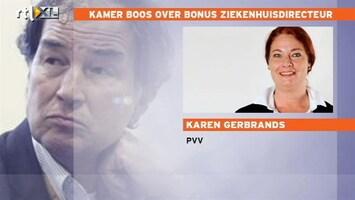 RTL Nieuws Kamer boos over bonus ziekenhuisdirecteur