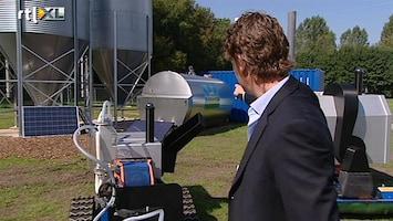 RTL Nieuws Boerderij van de toekomst vol met robots