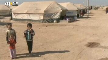 RTL Nieuws Kinderen doodgevroren in vluchtelingenkamp