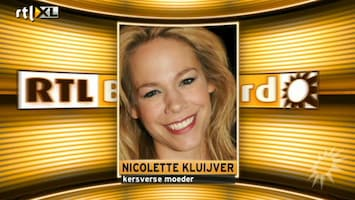 RTL Boulevard Nicolette Kluijver en Anne-Marie Jung allebei moeder