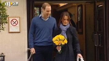 RTL Nieuws Zwangere Kate Middleton verlaat ziekenhuis