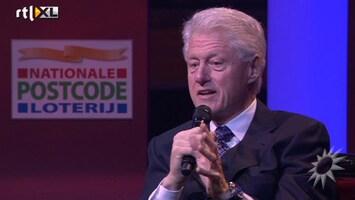 RTL Boulevard Bill Clinton op Gala Postcode Loterij