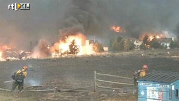 RTL Nieuws Bosbranden teisteren Colorado