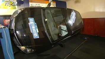 RTL Autowereld Autorijden doe je zo: Met de auto op de kop