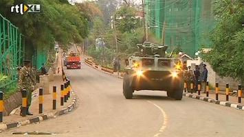 RTL Nieuws Bulldozers in aantocht voor puinruimen Nairobi