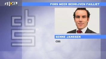 RTL Nieuws 'Vooral in de bouw flink meer faillissementen'