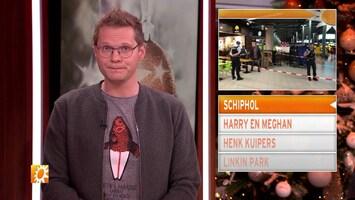 Paniek op Schiphol: Marechaussee schiet man neer