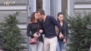 RTL Boulevard Eerste beelden kus Rafael en Sabia