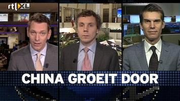 RTL Z Voorbeurs Chinese glas is steeds voller en dat is goed voor Nederland