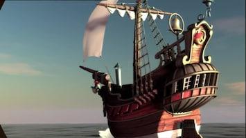 Piet Piraat Klavertje vier