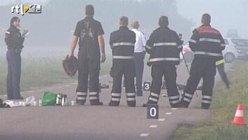 RTL Nieuws Man rijdt door na doodrijden weggebruiker
