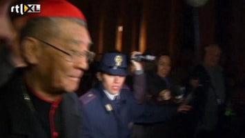 RTL Nieuws Alle kardinalen nu voor conclaaf in Rome