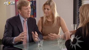 RTL Nieuws Linda de Mol interviewt WA en Maxima