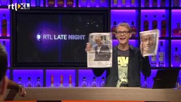 RTL Late Night Nieuwsdesk van 26 augustus