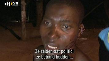 RTL Nieuws Geweld drukt stempel op verkiezingen Kenia