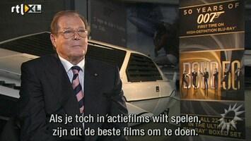 RTL Boulevard 50th Bond Anniversary met Roger Moore