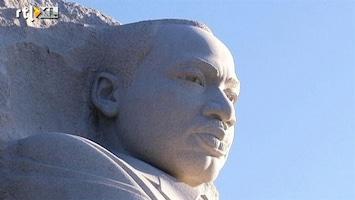 RTL Nieuws Martin Luther King in steen gevat