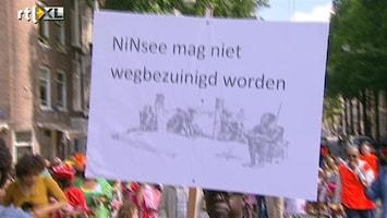 RTL Nieuws Demonstraties tijdens herdenking afschaffen slavernij