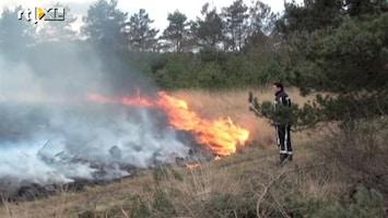 RTL Nieuws Heidebrand bij Radio Kootwijk