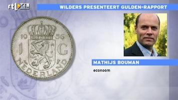 RTL Nieuws 'Invoering gulden kan ook duur zijn'