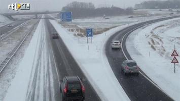 RTL Nieuws Morgen veel files en minder treinen door sneeuw