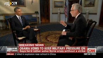 RTL Nieuws Obama: Syrië moet gifgasvoorraad vernietigen