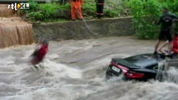 RTL Nieuws Reddingsacties na zware regen Z-Korea
