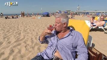 RTL Nieuws September: frituren op het strand