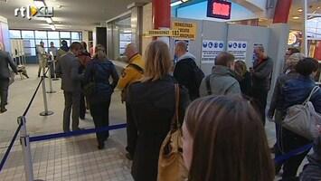 RTL Nieuws Rijen voor stembureaus op NS-stations
