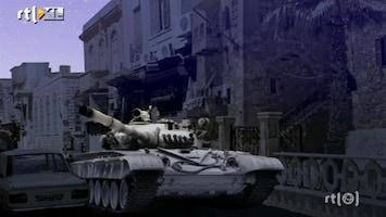 RTL Nieuws Razzia's in Syrische buitenwijken