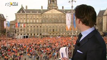 RTL Nieuws De Dam 9:00 uur: Het wordt nu echt oranje hier