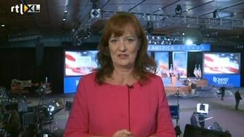 RTL Nieuws Team Romney in spanning voor uitslagenavond
