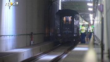 RTL Nieuws Passagiers geëvacueerd uit kapotte trein