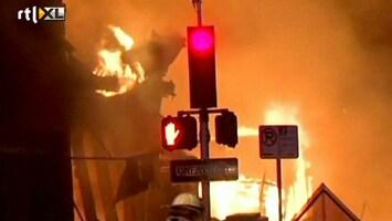 RTL Nieuws Brand na enorme explosie Kansas City
