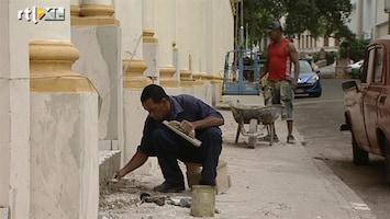 RTL Nieuws Cubanen profiteren amper van opknapbeurt Havana