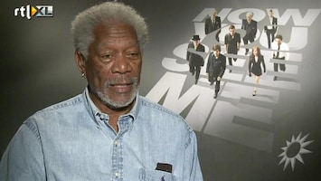 RTL Boulevard Morgan Freeman in Now You See Me