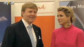 RTL Nieuws Koningspaar blikt terug op eerste maand