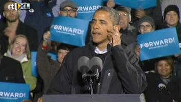 RTL Nieuws Obama in tranen tijdens slotspeech campagne