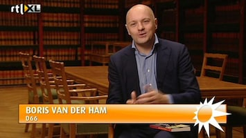 RTL Boulevard Boris van der Ham schrijft boek
