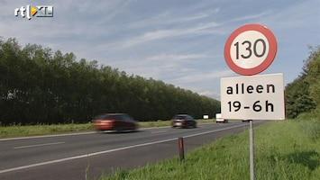 RTL Nieuws 130 rijden mag lang niet altijd en overal