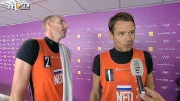 RTL Nieuws Beachvolleyduo: Duits team is erg aan ons gewaagd