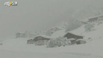 RTL Nieuws Sneeuw spelbreker in Alpen