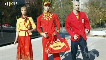 RTL Boulevard Spanjaarden woedend over Olympisch tenue