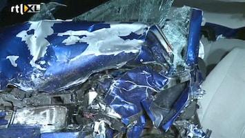 RTL Nieuws Twee doden bij frontale botsing N506