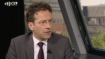 RTL Nieuws Dijsselbloem: extra bezuinigingen nodig